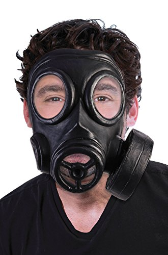 Forum Novelties Adult's Bio-Hazard 1940s Halloween Costume Gas Mask Gasmask Costume Accessory