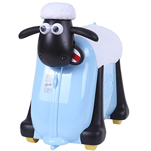 Shaun das Schaf Kinderkoffer (Blau)