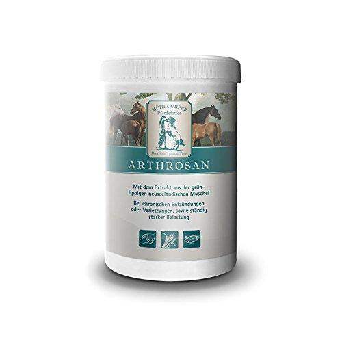 Mühldorfer Arthrosupra, 750 g, unterstützt den Bewegungsapparat bei Belastung oder Arthrose, Erhalt der Beweglichkeit, getreidefrei, Ergänzungsfutter für Pferde und Ponys
