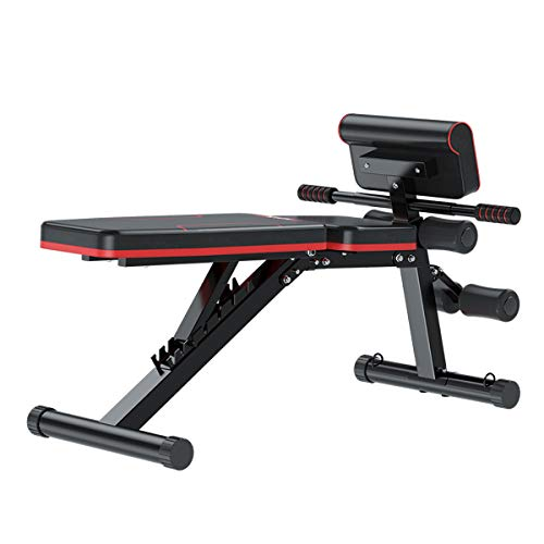 Adjustable Weight Bench for Full Body Workout, Training Exercise Workout Bench for Home Gym, Sit Up Bench Flat
