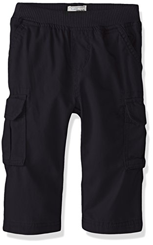 The Children's Place Baby Boys Pull On Cargo Pants, New Navy 8355, 6-9 Months