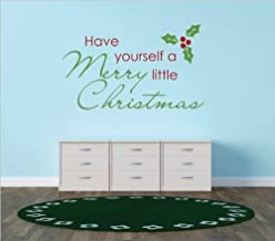 have yourself a merry little christmas wall sticker