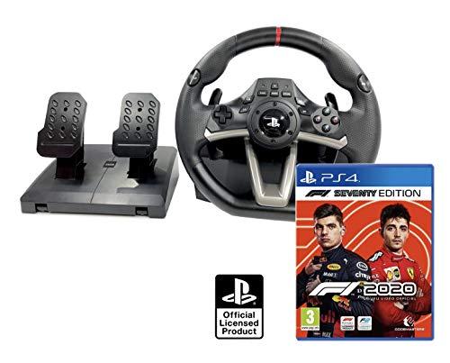 Volante PS4 Licencia Original Playstation 4 RWA Apex + Formula 1 2020 / F1 2020 PS4