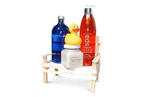Set regalo–Pure Pleasure Day Spa VIP Set da bagno su legno Bank