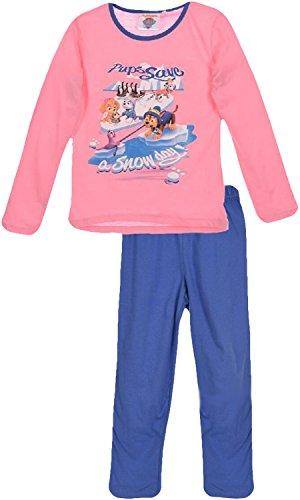 Nickelodeon Paw Patrol Mädchen Lange Pyjamas / Nachtwäsche (Rosa , 6 Jahre)