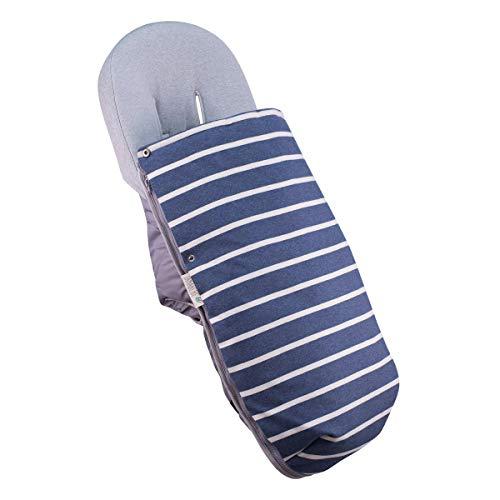 JANABEBE Saco Universal para Cochecito (Sailor Stripes, Algodon)