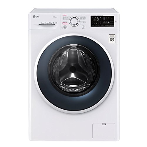 LG Electronics F 14WM 8TS1 Waschmaschine Frontlader / A+++ / 132 kWh/Jahr / 1400UpM / 8 kg / Spa Steam / Smart Diagnosis