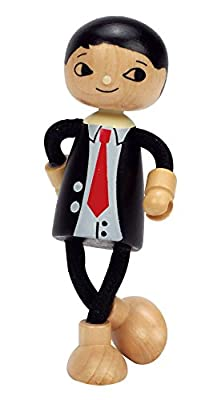 Hape Modern Family Wooden Dad Doll