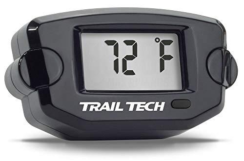 Trail Tech 742-ES2 Black TTO Temperature Digital Gauge Threaded Plug 1/8-28 BSPP Sensor