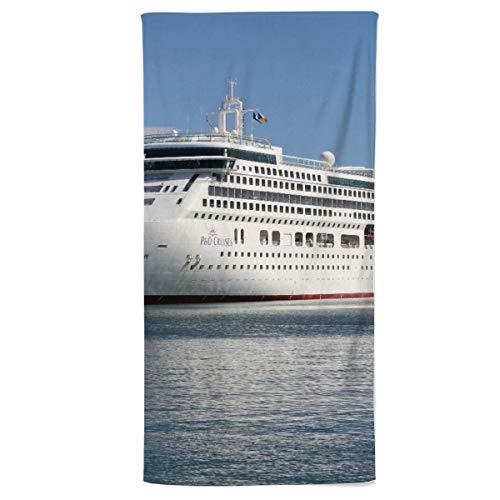 fotobar!style Strandhandtuch 90 x 180 cm EIN Motiv aus dem Kalender Kreuzfahrtschiffe in Europa