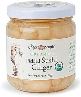 El jengibre parte orgánica Pickled Sushi jengibre 190
