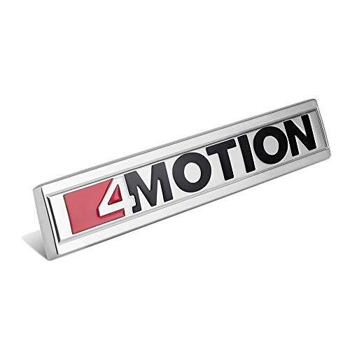 NXCY01 Logo de la capota para parrilla de coche 4MOTION insignia compatible...