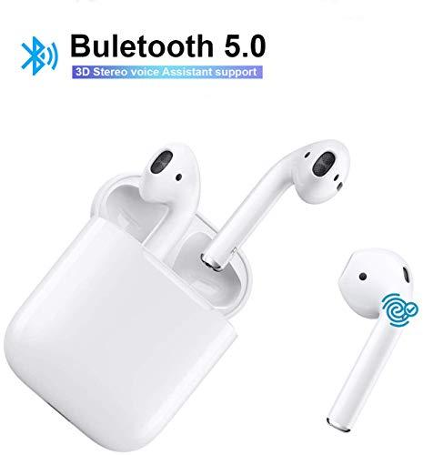 YYSMOZ Bluetooth-Kopfhörer, i11 Funk-Kopfhörer Touch-Steuerung, Popup-Pairing,Integriertes Stereo-Mikrofon zur Geräuschunterdrückung, kompatibel mit Apple Airpods Android/iPhone