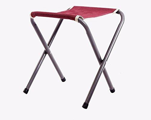 TZ TED Pliante Portable Camping Tabouret, extérieur léger Nouveau Design Chaise pour Barbecue Camping Pêche randonnée Garden Beach Tissu Oxford avec Sac de Transport en Aluminium
