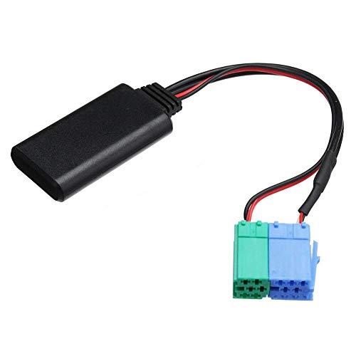 Fayeille Bluetooth Adapter, Auto Draadloze CD Stereo AUX Muziek Interface Compatibel voor Porsche voor Becker Radio Zwart