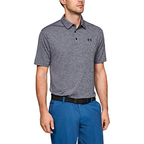 Under Armour Herren Playoff 2.0 Polo Tshirt, Grau, M