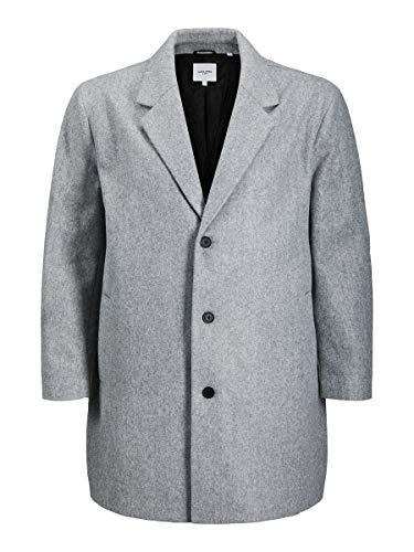 Jack & Jones Jjliam Coat PS Chaqueta, Color Gris, XXXXXL para Hombre