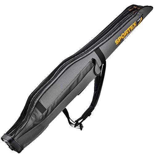 Sportex Rutentasche SuperSafe 165 cm/2 Fächer grau