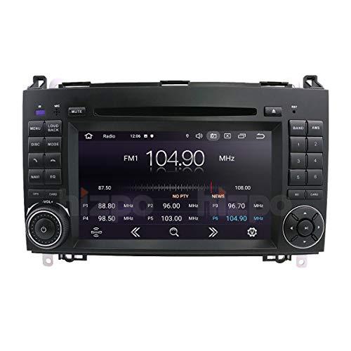 Android 10 7-Zoll-Auto Stereo-GPS-Navigation Kompatibel mit Mercedes-Benz A-Klasse W169 B-Klasse W245V-Klasse W639 Sprinter 3000 VW Crafter 1 GB RAM 16 GB ROM Bluetooth 4.0 Radio USB WiFi CANBUS