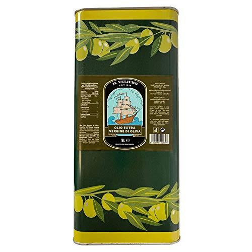 Il Veliero – Original italienisches Olivenöl 5 Liter kaltgepresst | Olio Extra Vergine