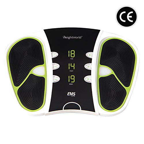 Voetmassage Apparaat - Om de bloedcirculatie te verbeteren met elektrische spierstimulatie - Stimuleert spieren in de voeten en onderbenen - 99 Niveaus - 2 Jaar Garantie
