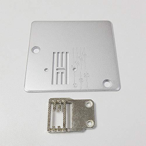 Feed Dog + placa de aguja para máquina de coser Yamata Feiyue FY811