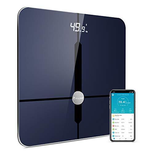 FYLINA ITO Körperfettwaage Bluetooth Digital Personenwaagen Bluetooth Digitale Körperwaage mit App