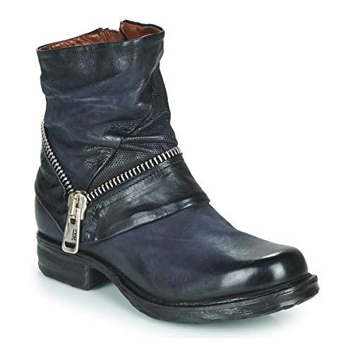 airstep / a.s.98 Saint Ec Zip New Stiefelletten/Boots Damen Blau - 39 - Boots Shoes