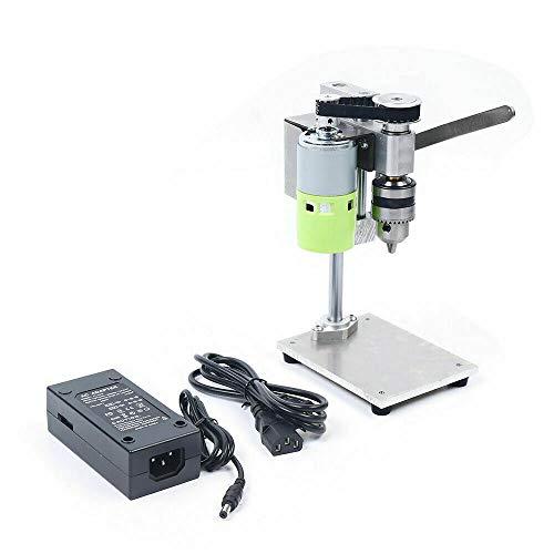 100-240V 100W Mini Drill Press Table Workbench,Variable Speed Drilling Chuck Mini Table Drill Precision Tapping Machine Milling Machine,795 Model Pure Copper Core Motor,Adjustable Speed 1000-4500 Rpm