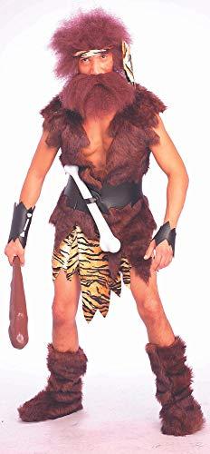 Herren-Kostüm Höhlenmensch Gr. M Caveman Steinzeit-Mensch Neandertaler