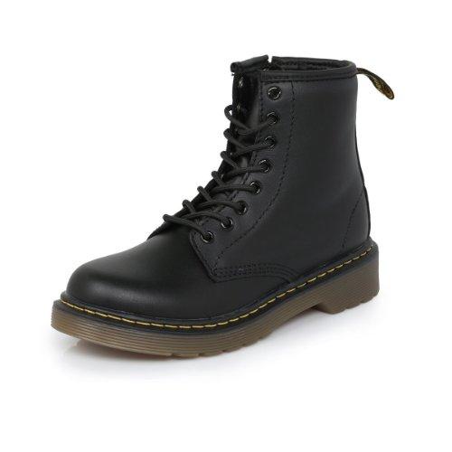 Dr. Martens Delaney Boot Black Softy T 2 UK(3 M US Little Kid)