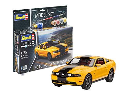 Revell 67046Model Juego 2010Ford Mustang GT Maqueta de Escala 1: 25orgin Algas fidelidad imitación con Muchos Detalles