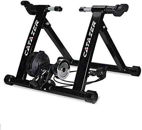YZPJSQ Indoor Bike Trainer Ejercicio Soporte El Soporte Plegable de Bicicleta de Gimnasio de formación Vial MTB 26-29 Pulgadas