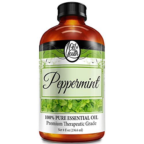 8oz Bulk Peppermint Essential Oil – Therapeutic Grade – Pure & Natural Peppermint Oil