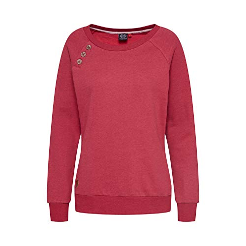 Ragwear Sweater Damen DARIA 1921-30001 Rot Red 4000, Größe:XL