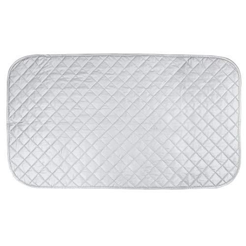 Manta de Tablas Planchar Portátil Cubierta de Almohadilla Resistente Calor para Lavadora Plancha Socialme 48 * 85 cm