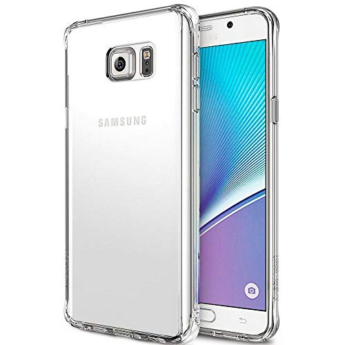 Robotek Shock-Absorbing Ultra Slim Clear Back Case for Galaxy S6 Edge   Premium Protective HD Crystal Clear Soft Silicone Cover   Scratch Resistant Gel TPU Case
