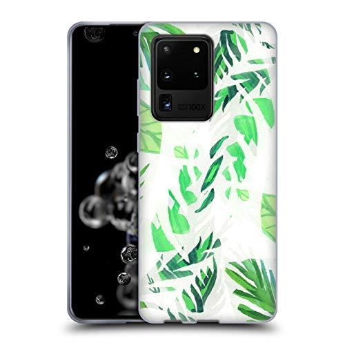 Head Case Designs Licenciado Oficialmente Vasare NAR Hoja Patrones 2 Carcasa de Gel de Silicona Compatible con Samsung Galaxy S20 Ultra 5G
