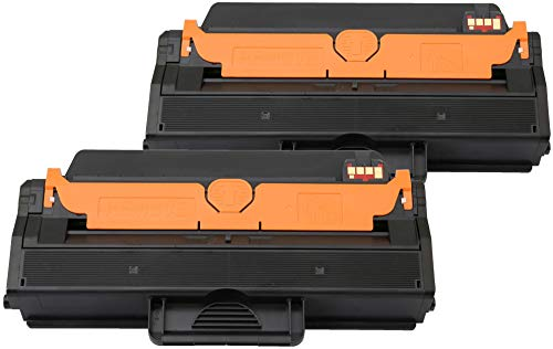 TONER EXPERTE Pack of 2 Compatible 593-11109 Toner Cartridges for Dell B1260dn B1265dfw B1265dnf B1200 Series (2500 Pages)