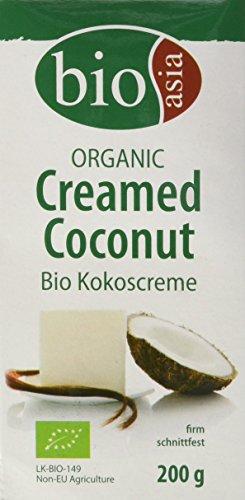 Bioasia Bio Kokoscreme, 10er Pack (10 x 200 g)