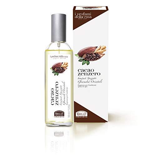 Helan - Les parfums de la maison Cacao Zenzero parfum pour l'environnement spray 100 ml