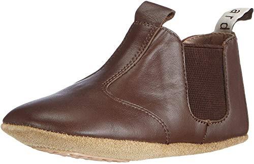 Bisgaard Chelsea Home Shoe - Plantilla Comfort Infantil, Color marrón (60 Brown), Talla 24