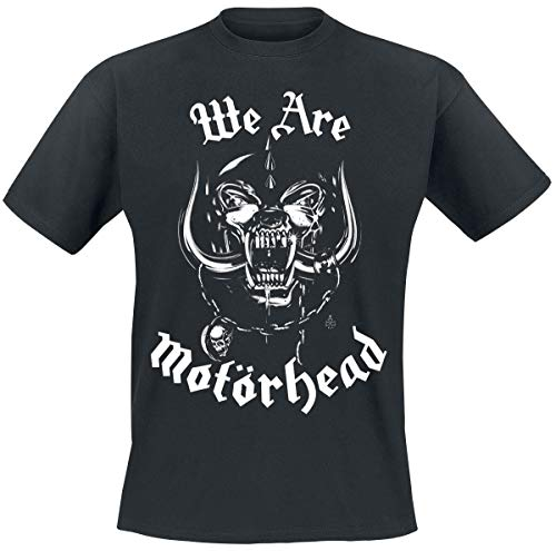 Motörhead We Are Hombre Camiseta Negro XXL, 100% algodón, Regular