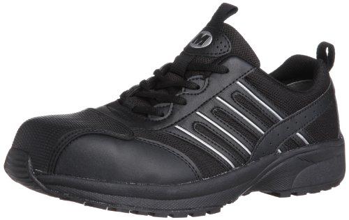 [ミドリ安全] 安全作業靴 JSAA認定 トゥキャップ付き プロスニーカー SL601 CAP ブラック 22.0(22cm)
