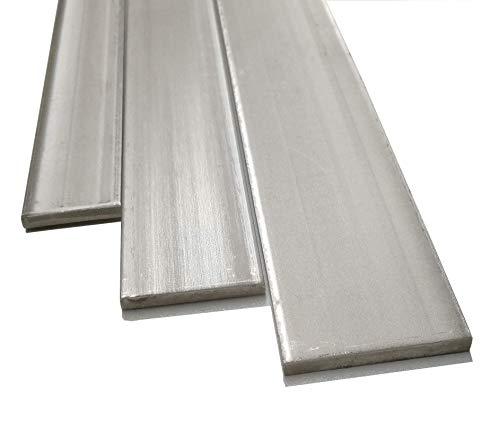 Flachstahl/Flach/Edelstahl/WST 1.4301 / V2A / Roh (40mm x 4mm, Länge: 1000mm)