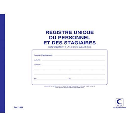 ELVE 18613 Registre unique Elve 48 Pages Imprimées A4 Couleurs Assorties