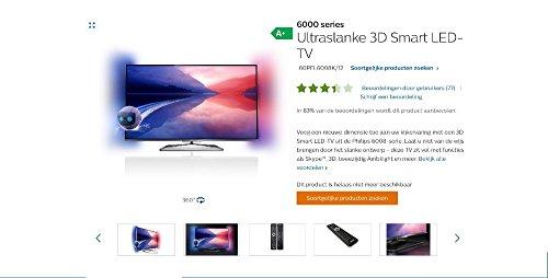 QINYUN YKF319-001V3 Télécommande 2242 549 90636 pour Philips Smart 6000 Series Smart LEDTV 60PFL6008K/12 avec clavier