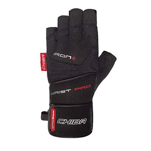 Chiba Handschuhe Iron Plus II Gants Mixte, Noir, XXL