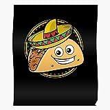 Burrito Nachos Cute Mexico Taco Tacos Mexican Love Home Decor Wall Art Print Poster !