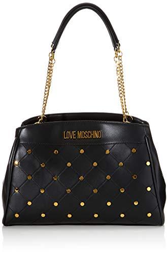 Love Moschino Jc4095pp1a, Borsa Tote Donna, Nero (Nero), 13x26x36 cm...